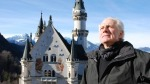 Picture Shows: Dan Cruickshank in fornt of  Neuschwanstein Castle