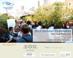 Sustainability Network summer celebration 2015
