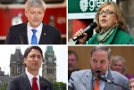"Begin forwarded message: From: ""Pereira, Tania""  Subject: Federal Party leaders  Date: 23 June, 2015 1:59:02 PM EDT To: Photodesk - Toronto Star  Federal election Federal Party leaders Stephen Harper Elizabeth May Justin Trudeau Thomas Mulcair"