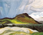 lake-wabagishik-1928-by-franklin carmichael