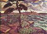 A-September-Gale-Georgian-Bay-1921-by lismer