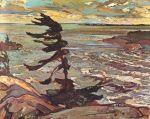 Frederick-H-Varley-Stormy-Weather-Georgian-Bay-1920