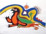 Three-Birds by jackson beardy