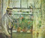 Berthe_Morisot_-Eugène Manet on the Isle of Wight