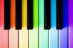 tastatur von einem Klavier