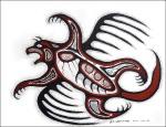 FlyingBear by carl ray