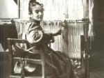 Karin-Bergoo at loom