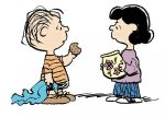 linus and lucy by schulz