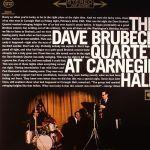brubeck quartet at carnegie hall