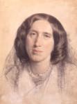 NPG 669, George Eliot (Mary Ann Cross (nÈe Evans))