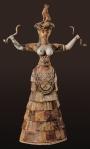 snake-goddess
