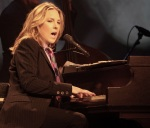 Canadian jazz pianist and singer Diana Krall performs onstage during her Glad Rag Doll World Tour at the Grand Opera on Tuesday, April 16, 2013, in Wilmington, Del. (Photo by Owen Sweeney/Invision/AP)
